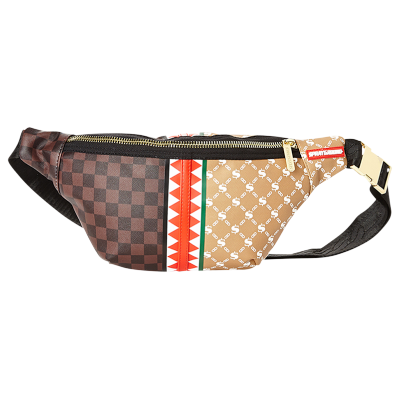 "Sprayground ""Paris vs Florence"" Crossbody Bag"