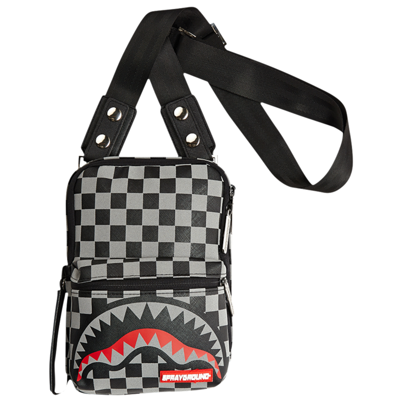 "Sprayground ""3M Sharks In Paris"" Sling Bag"