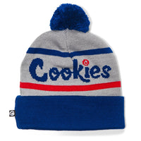 "Cookies ""Erry'Body Eats"" Embroidered Pom Pom Beanie"