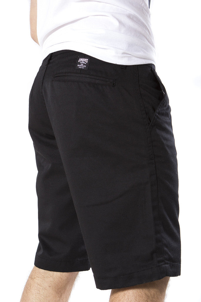 Elite Chino Short (Black)