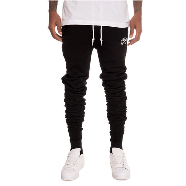 "Civil Regime ""Stacked"" Runner Pants"