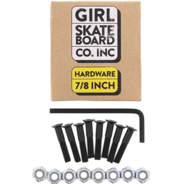 "Girl ""New"" Skateboard Hardware"