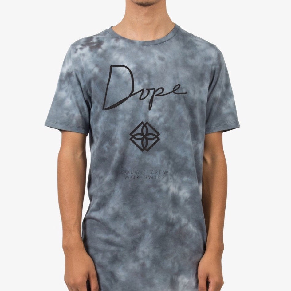 Dope Washed Monogram Scoop Tee
