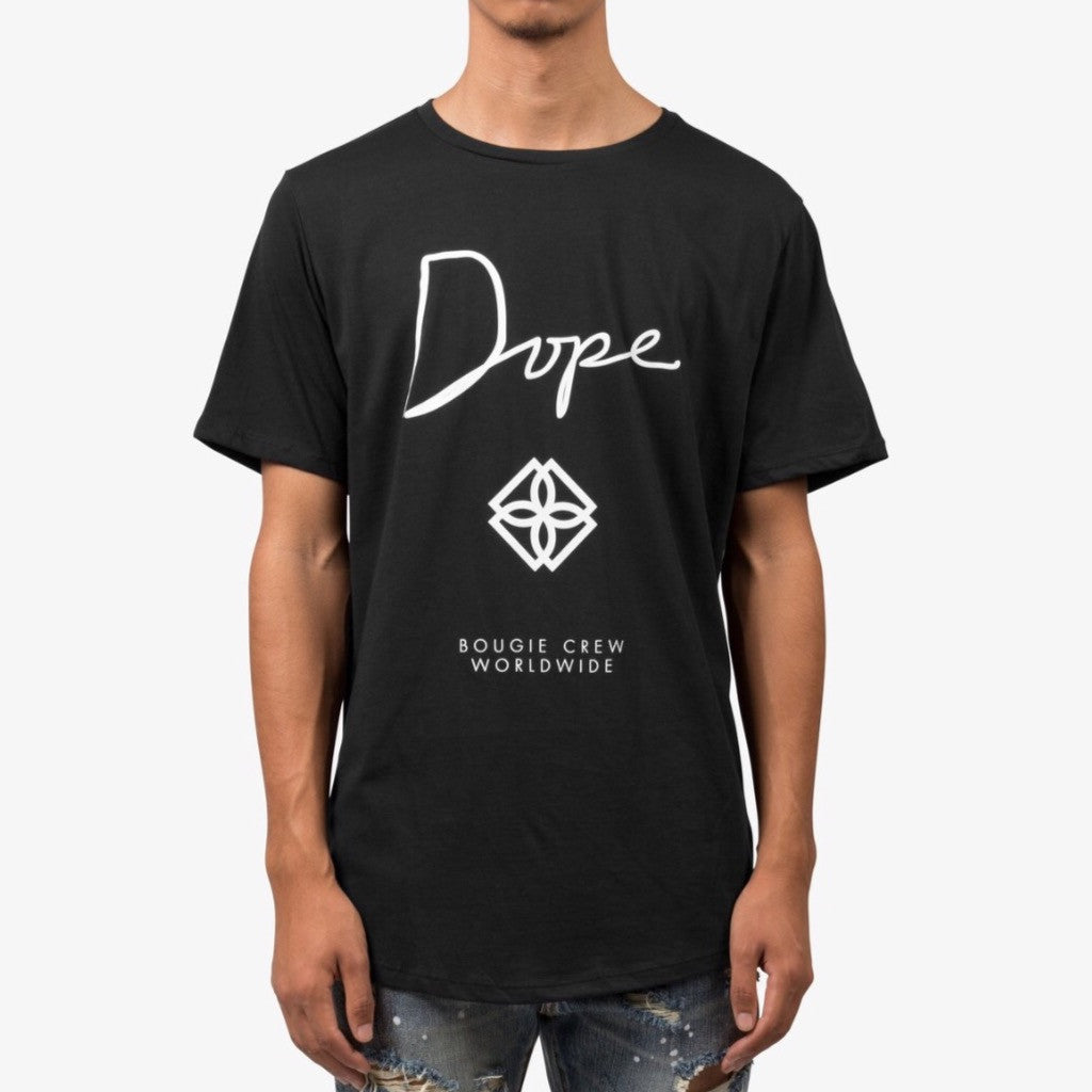 Dope Monogram Scoop Tee