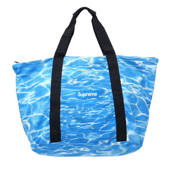 "Supreme ""Ripple"" Packable Tote Bag (Blue)"