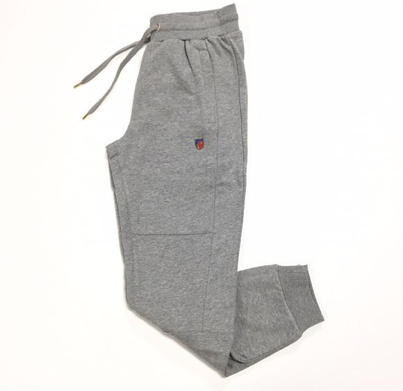 "Cookies ""Carrera Terry Pieced"" Sweatpants (Grey)"