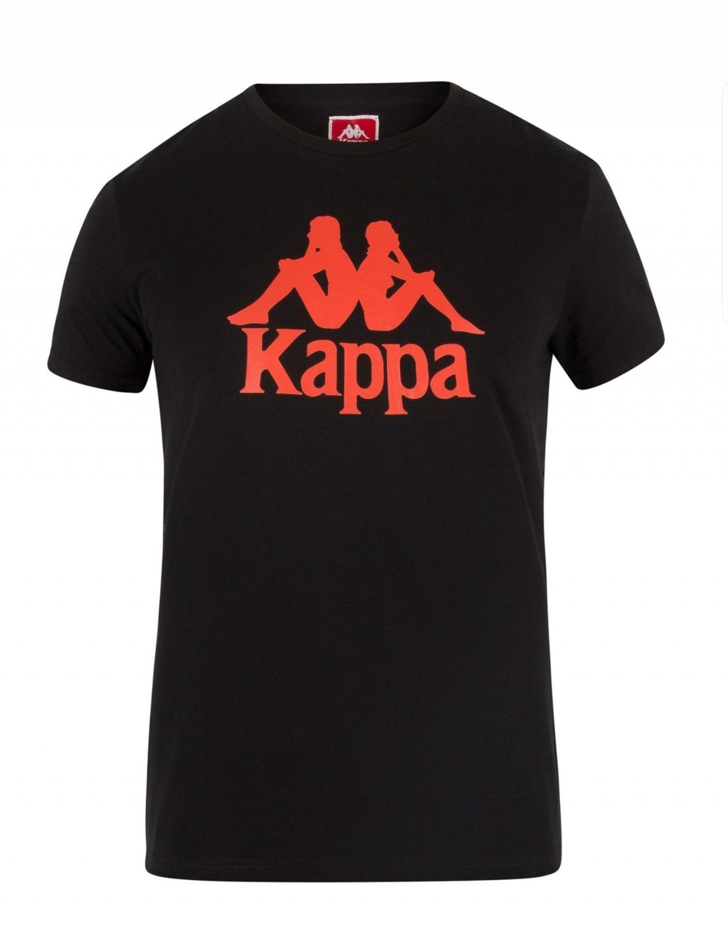 "Kappa ""Authentic Estessi"" Slim Tee (Black/Red)"