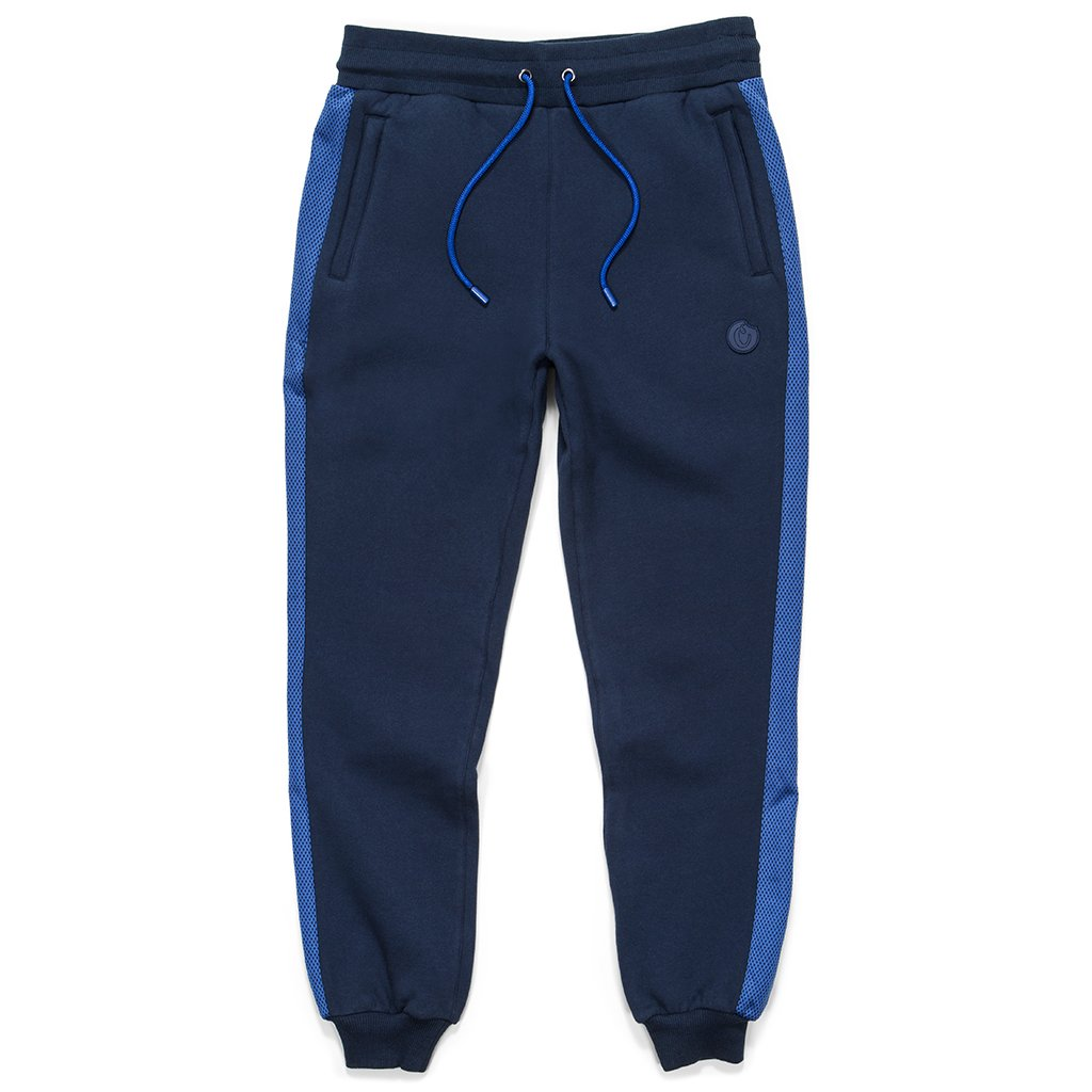 "Cookies ""Sierra"" Fleece/Jacquarded Tech Stripe Fleece Sweatpants"