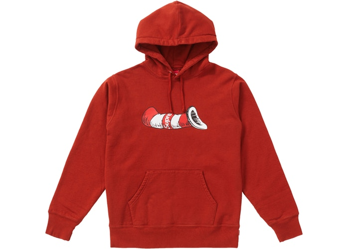 Supreme × Cat In The Hat Hooded Sweatshirt