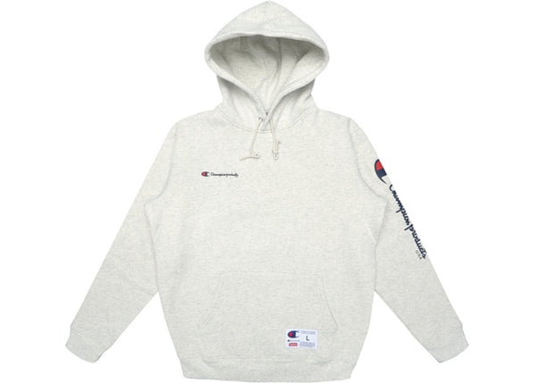 Supreme × Champion Hooded Sweatshirt