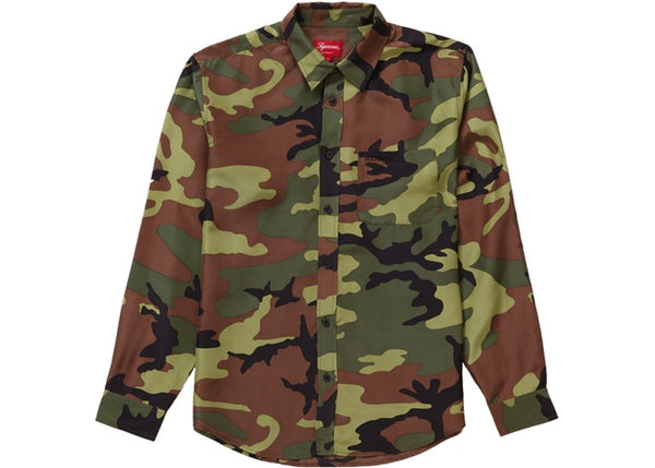 "Supreme ""Silk Camo"" Shirt"