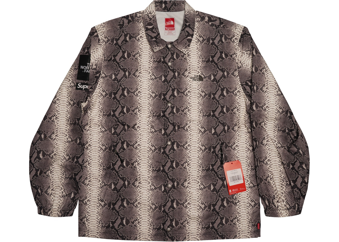 "Supreme × The North Face ""Snakeskin Taped Seam"" Coaches Jacket"