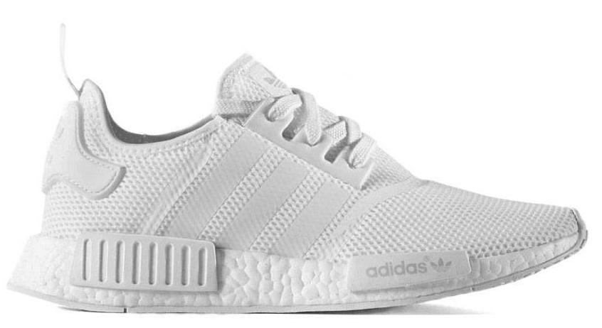 "Adidas NMD R1 ""Monochrome Pack"" (Triple White)"