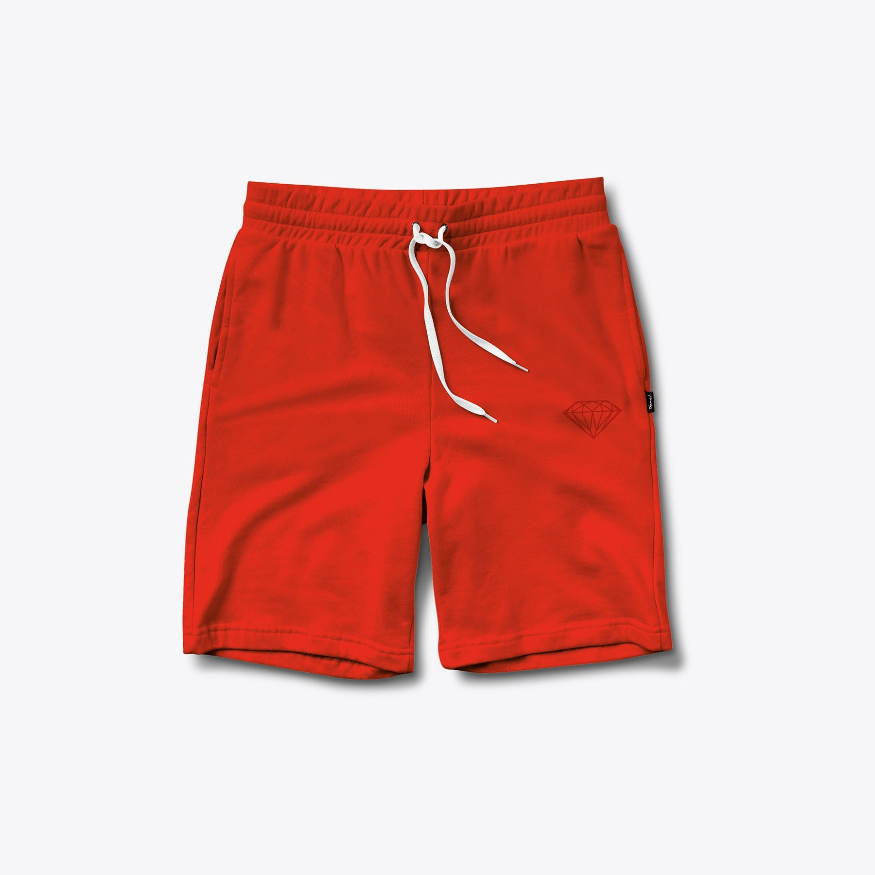 Tonal Chest Brilliant Sweatshorts (Red)