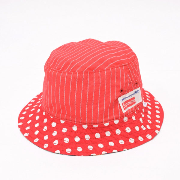 "Supreme × CDG ""Reversible Crusher"" Hat"