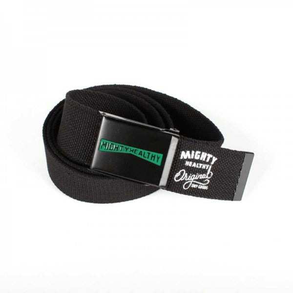 "Mighty Healthy ""Ramp Web"" Belt (Black)"