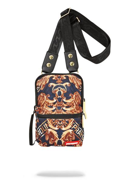 "Sprayground ""Palace Of Sharks"" Sling Bag"