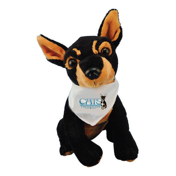 Ace Plush with C.A.T.S. Foundation Bandana