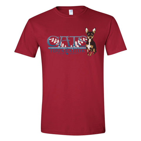 C.A.T.S. Foundation T-Shirt (Cardinal Red)