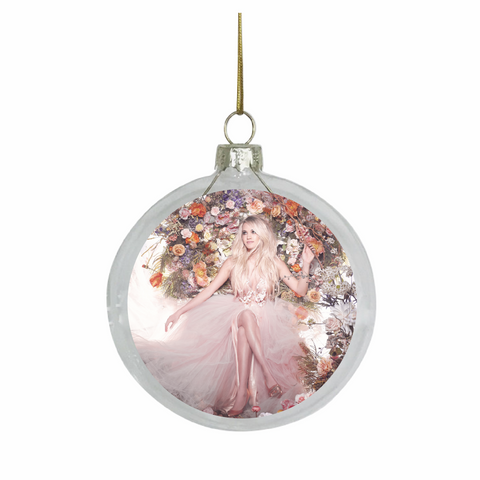 Carrie Underwood Glass Ornament