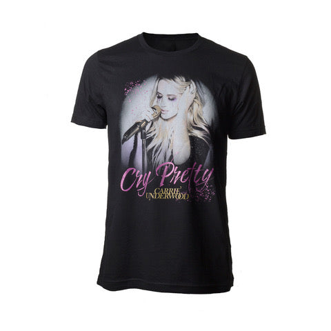 """Cry Pretty"" Carrie T-Shirt"