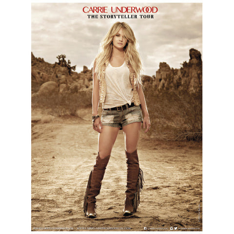 Carrie Standing Poster