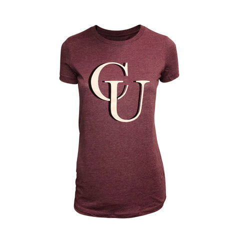 Ladies Plum Logo Tee