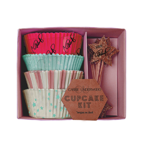 Cupcake Kit with Recipes