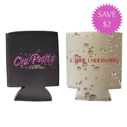 """Cry Pretty"" & Gold Koozie Pack"