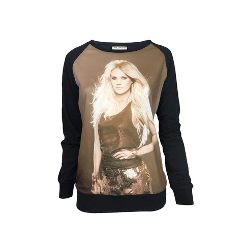Long Sleeve Carrie Underwood Photo Shirt