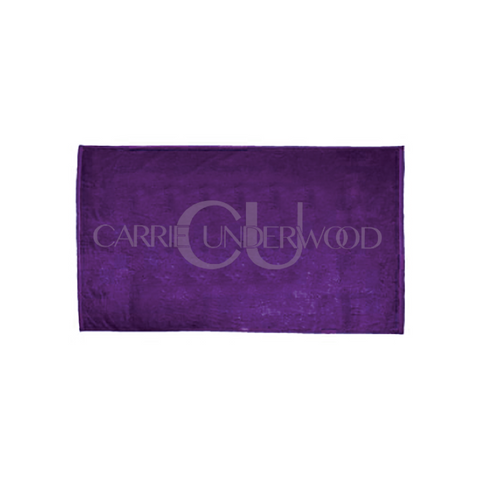 Purple Logo XL Beach Towel