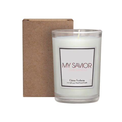 My Savior Candle (Citrus Verbena)