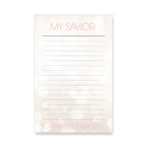 My Savior Adhesive Notepad