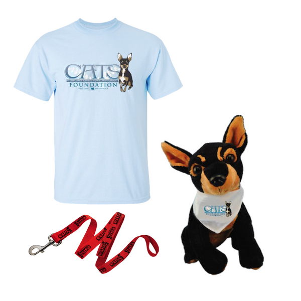 C.A.T.S. Foundation Pack (Ace, Leash, Tee)
