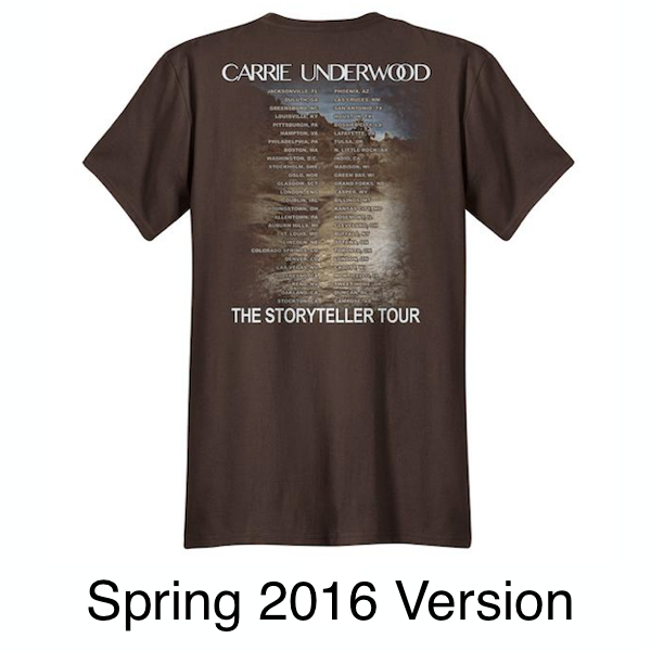 Chocolate Mountain Itinerary T-Shirt
