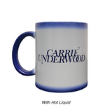 Blue Color Changing Carrie Mug