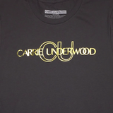 Charcoal Gold Foil Tee