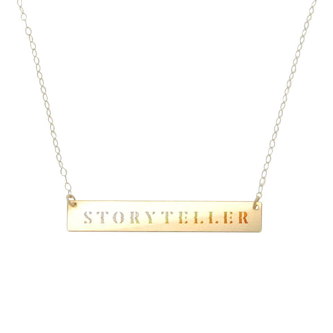Gold Storyteller Necklace