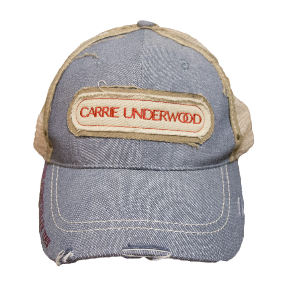 a403f2ebf53bb Blue Patch Hat – Carrie Underwood Online Store