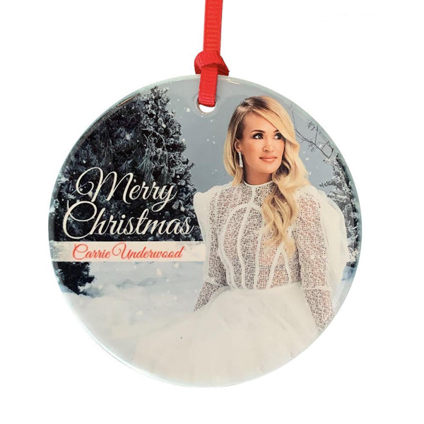 White Dress Ceramic Ornament