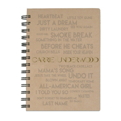 Song Title Spiral Notebook