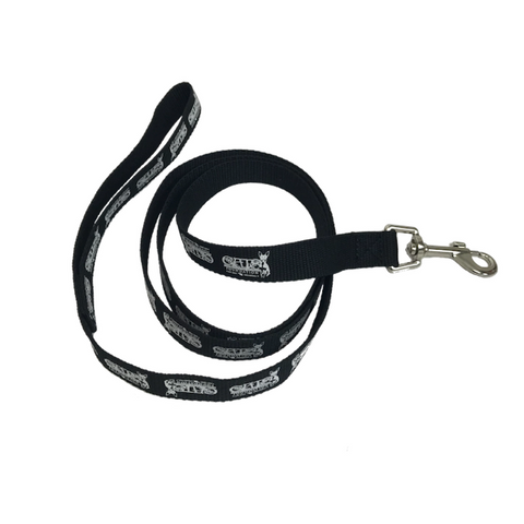 C.A.T.S. Foundation Medium Black Leash