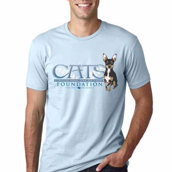 C.A.T.S. Foundation T-Shirt (Baby Blue)