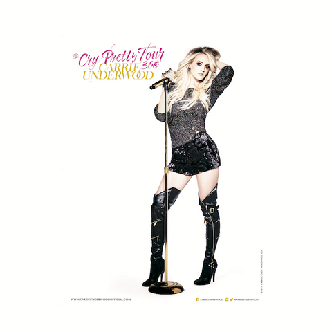 The Cry Pretty Tour 360 Carrie Poster