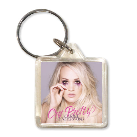 Cry Pretty Keychain