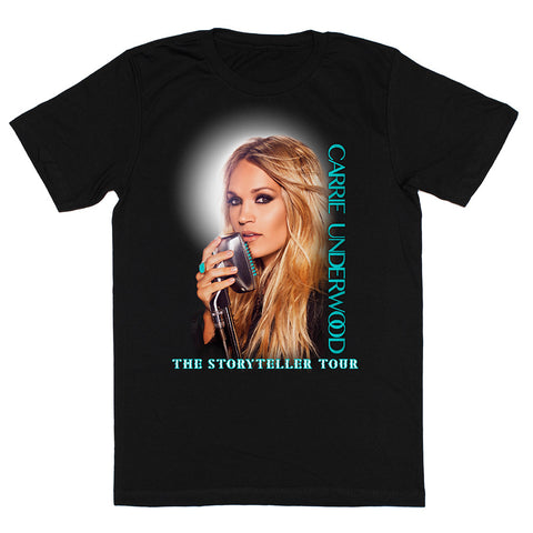 Black Glitter Storyteller Tour T-Shirt