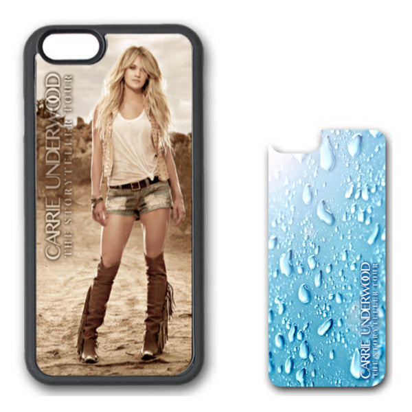 Storyteller Tour iPhone Case with Interchangeable Rain Design