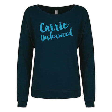 Navy Long Sleeve Carrie Shirt