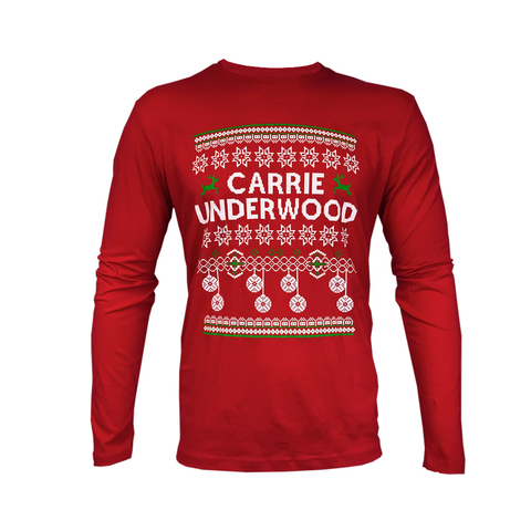 Red Christmas Long Sleeve