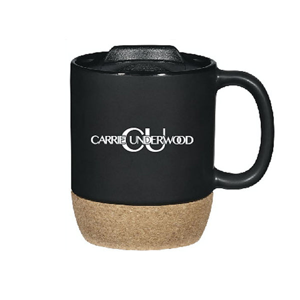Black Mug with Lid